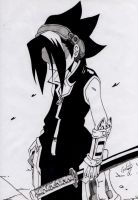 Yoh - Shaman King by elchinoga