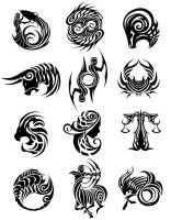 Tribal Zodiac by sodeni
