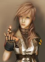 Lightning PS3 and PSP by SerenaKaori87