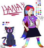 CE: Hana Redesign by Lucky-Puppy