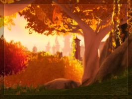 WoW: Eversong Woods 2 by melliannen