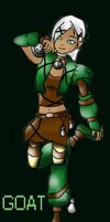 Goat the Earth Sprite by sorrowscall