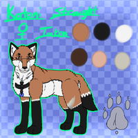 Kotoni Ref Sheet by AquatheOhioKitty