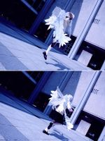 Flying Angel - Angel Beats! Tachibana Cosplay by K-I-M-I