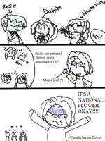 National leaves by poi-rozen