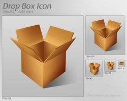 Drop Box Icon by 2Shi