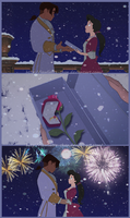 Christmas Proposal by Lawliette-chan