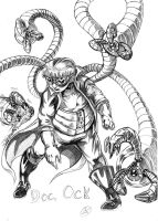 Doctor Octopus GA redesign by TheCreationist