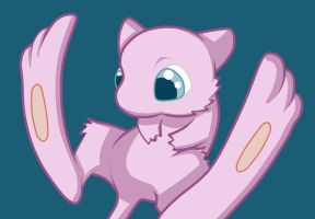 Speedpaint - Mew by Ayinai