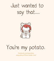 You're my potato~ by EmilysDiary
