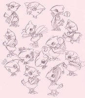 PKMNC: Murine Sketches by Domisonic