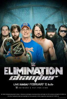 WWE Elimination Chamber 2017 Poster by edaba7