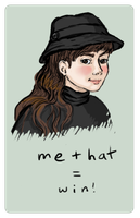 me + hat by rillani