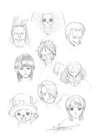 Straw Hats by ItsBirdyArt