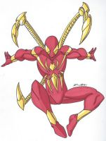 Spidey Series: Iron Spider by RobertMacQuarrie1