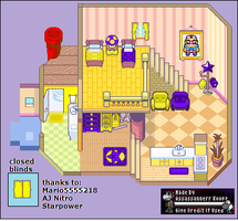 Wario And Waluigi's House (2 years Old!) by Assassannerr