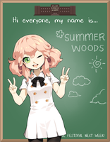 EE: High School AU Summer by Snowchu