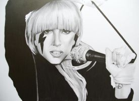 Lady Gaga by DavidS65