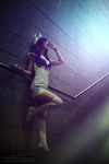 Retro Space Girl Rarity MLPFiM ~ Hana Minamoto by Hana-Zone