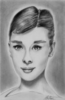 Audrey Hepburn by chairboygazza