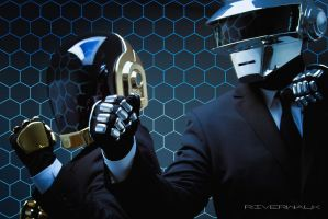Daft Punk Vs. The Grid by River213