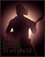 James Hetfield Silhouette. by grazx