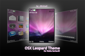 Nokia Series40 Leopard Theme by Minimall