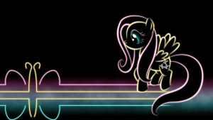 Fluttershy Glow Wallpaper by SmockHobbes
