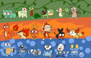Starters by DabroodThompson