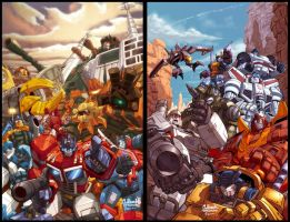 Transformers covers by diablo2003