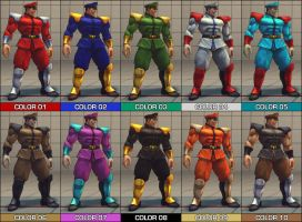 Vega Colour Pack - SF4 Mod by Jiggeh