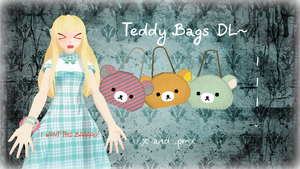 Rilakkuma Bag -DL- by LesnikovaP