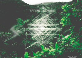 NATURE ABSTRACT by ZettaDesignsHD