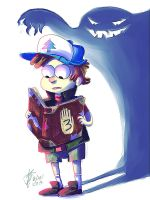 Gravity Falls: Don't Turn Around by roboptables