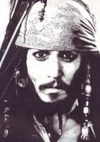 Johnny Depp is Jack Sparrow by Mogura-no-kanji
