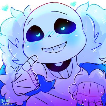 Sans by LovelyArtist1234