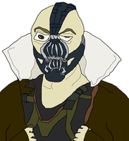 TDKR - Bane by holdypause