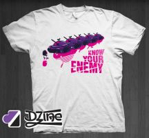 Dzine Clothing Know your Enemy by DzineClothing
