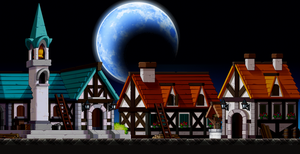 A small town Custom Background by EightQueens