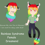 DNA Combiner 1 {Rainbow Syndrome} by ShatteredBeginnings