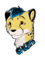 Cheeto Badge by Behrooze
