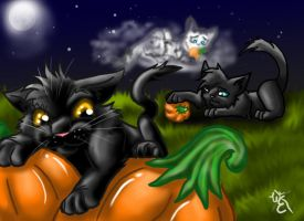Memories in the Pumpkin Patch by WillowEscapee