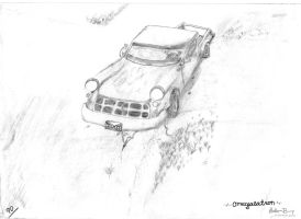 Southern pick-up Truck by omegalatron