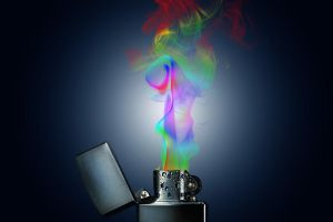 Smoking Lighter by Partists
