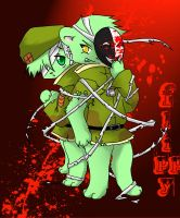 Flippy Bloodshed by GuiltyAngel123
