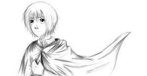 Armin Arlert (2) by TheRedAuthor