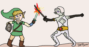 Link vs. Ghirahim by The-Bryce-Is-Right