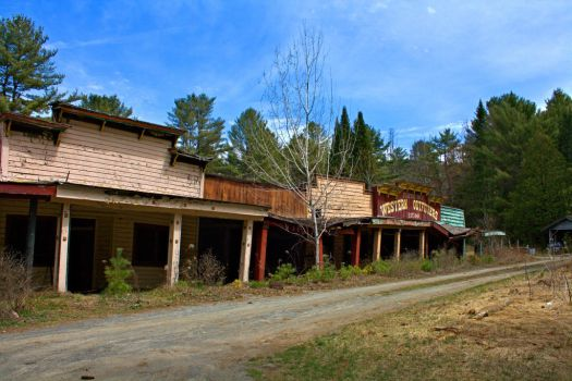 Frontier Town shops by funygirl38