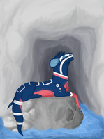 Ice hockey cave by KiwiM00SE