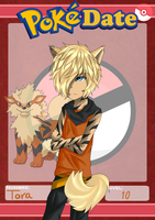 PokeDate-Arcanine by Sora-no-Ryu-JG13